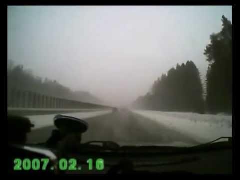 Авария под Пермью 7.03.2013