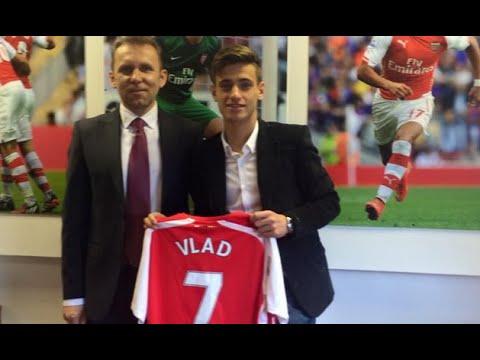 Vlad Dragomir ► Welcome To Arsenal ● Goals & Skills ● 2015
