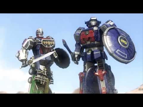 ヒーロー戦隊のロボットの迫力のCGアニメーションがカッコ良過ぎ