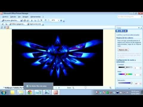 Como Editar Imagenes En Microsft Picture Manager | #Tutoriales