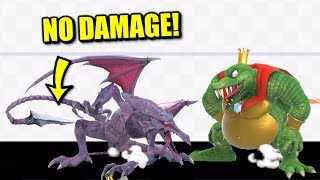Super Smash Bros. Ultimate - Who Can Survive Ridley's Down B With No Damage?