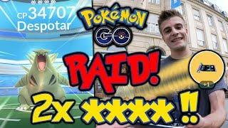 Mein erster Raid! WP 34.000 Despotar! Erste TMs erhalten! | Pokémon GO deutsch