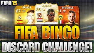 FIFA BINGO!!! OMFG LEGEND & MOTM DISCARD CHALLENGE!!! Fifa 15 Discard Pack Opening