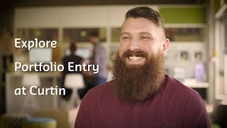 Find out if portfolio entry into Curtin is right for you