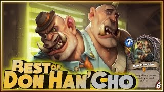 Hearthstone - Best of Don Han'Cho - Funny and lucky Rng Moments