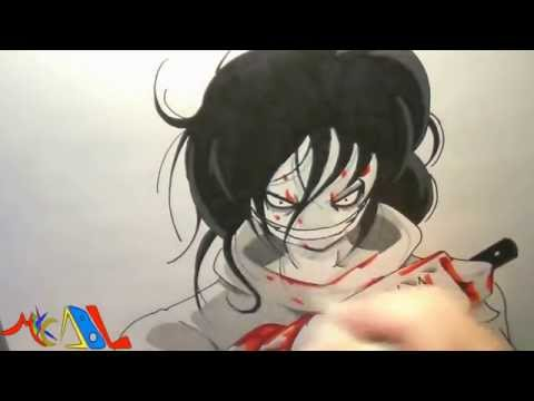 Dibujando a: Jeff The Killer
