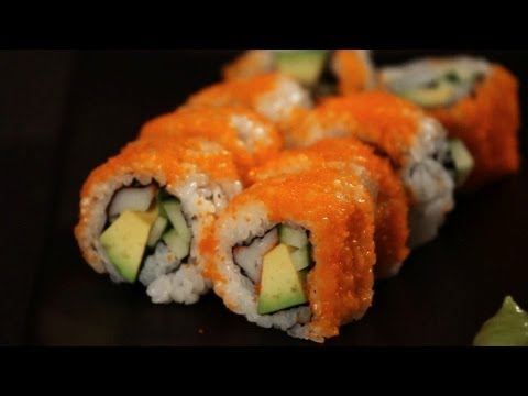 How to Make a California Roll | Sushi Lessons