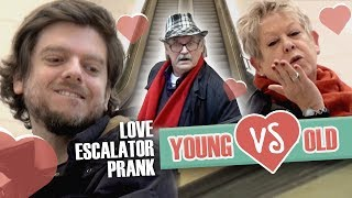 Love Escalator Prank : Young VS Old (Feat. Studio Danielle & Jonathan Demayo) Version Web