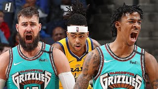 Golden State Warriors vs Memphis Grizzlies - Full Game Highlights January 12, 2020 NBA Season