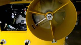 Hovercraft Rotoren- Test