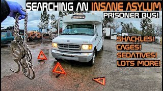 Searching An Insane Asylum Prisoner Bus! Crown Rick Auto