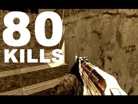 80 KILLS ON - PS3 - Call of duty 4 live online gaming ! !!