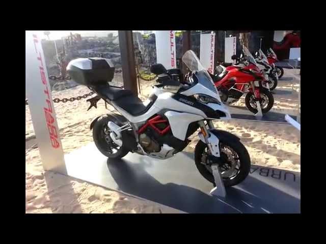 Vid�o Ducati 1200 Multistrada DVT 2015 : Pr�sentation des 4 d�clinaisons