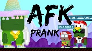 Growtopia | AFK prank!