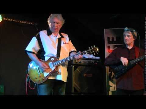 Mick Ralphs Blues Band - Live at Backstage At The Green, Kinross. 17/03/12