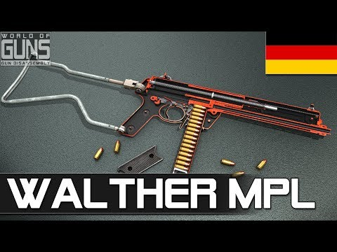 How does Walther MPL smg work?