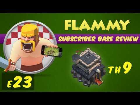 Clash of Clans Subscriber Base Review #23 - Town Hall 9 - Defensive Strategy