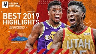 Donovan Mitchell BEST Highlights & Moments from 2018-19 NBA Season! Future MVP!