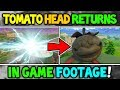 NEW FORTNITE TOMATO HEAD RETURNS GAMEPLAY Tomato Town Head TURNED TO STONE Season 5 Story END mp3