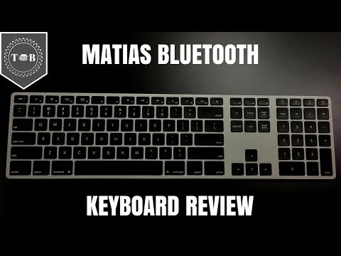 Matias Aluminum Keyboard Review - The Best Alternative To Apple Magic Keyboard