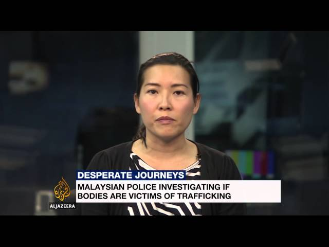Mass graves discovered in Malaysia