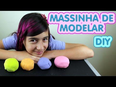 Massinha Modelar Caseira passo a passo como fazer (Super Massa. Play Doh. DIY. Macia) Play Dough
