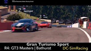 Gran Turismo Sport - GT3 Masters - Bathurst - DC-SimRacing.NL - LIVE