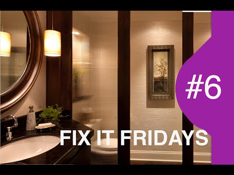 Fix It Friday: From the Laundry to the Loo | Interior Design Bathrooms