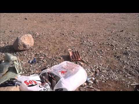 F-117 RC model plane fun  flight in Batman Turkey