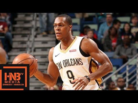 New Orleans Pelicans vs Charlotte Hornets Full Game Highlights / March 13 / 2017-18 NBA Season