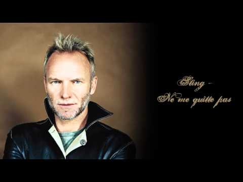 Sting - Ne Me Quitte Pas (English)
