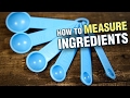 How to Measure Baking Ingredients | Baking Basics with Upasana | Baking Essentials for Beginners