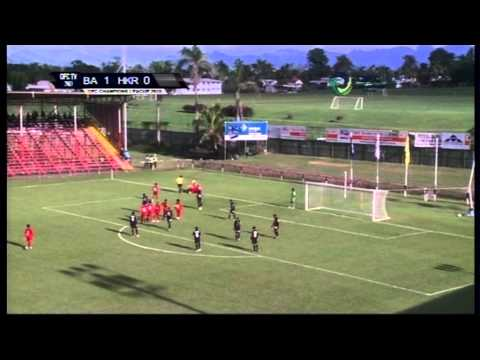 FBC & OFC TV Production - Copyright OFC TV © April 2013 Fijian side Ba have beaten Papua New Guinea's Hekari United 2-0 at Govind Park in Ba, Fiji, in Group A on day three of the OFC Champions ...