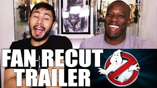 GHOSTBUSTERS FanCUT trailer REACTION w/ Syntell!