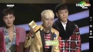MAMA 2015 - BIGBANG - WORLDWIDE FAVOURITE ARTIST