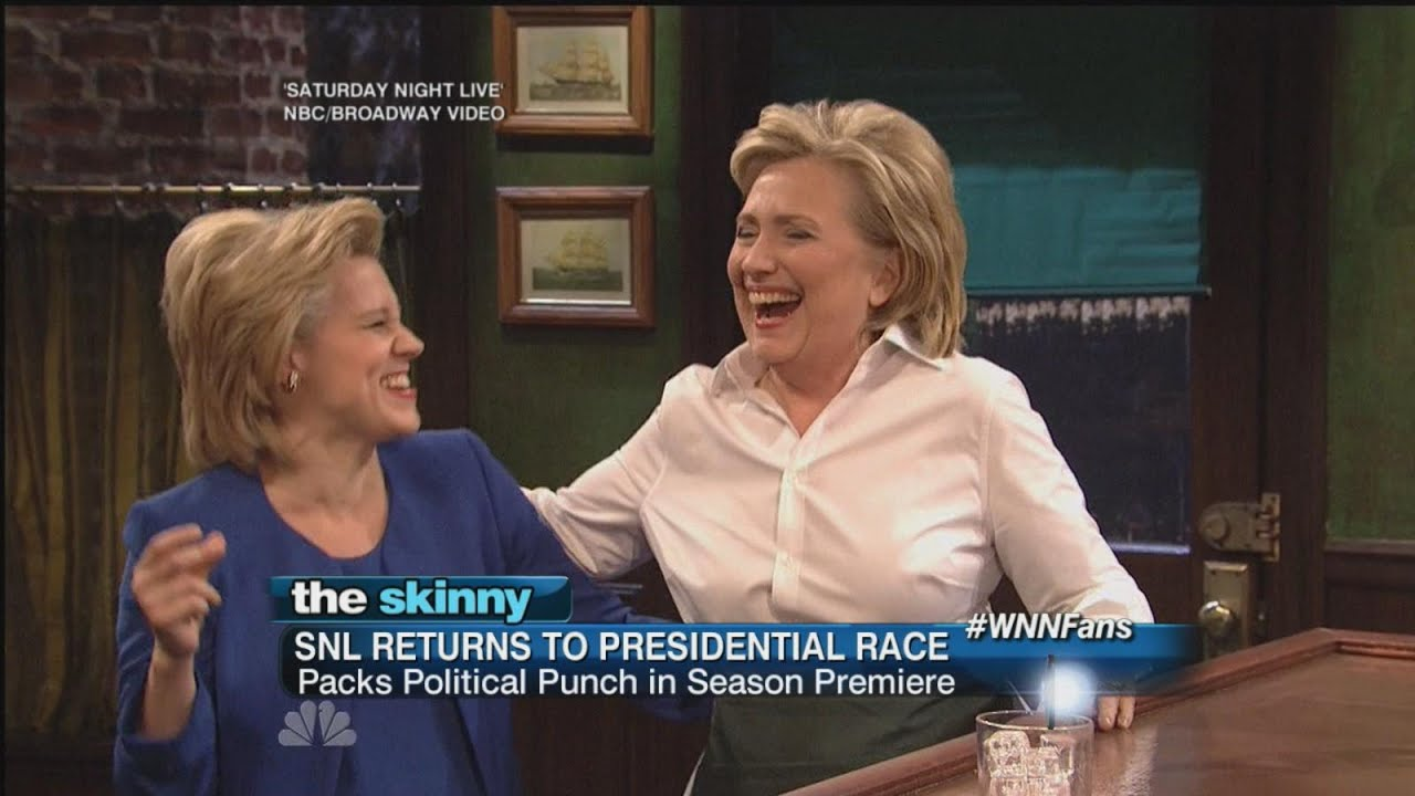 Hillary Clinton Sings, Dances and takes a jab at Trump on SNL's Season Premiere. | ABC News