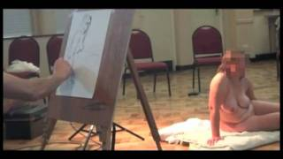 art class female model nude.mp4