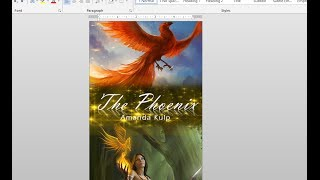 How to Make Your Own Book Cover Using MS Word