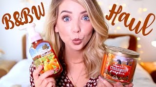 Autumn Bath & Body Works Haul | Zoella