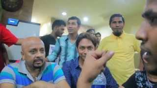 Bangladeshi Movies  Action Hero Super Star Rubel Visiting at Mamar Bari Restaurant In Kuala Lumpur