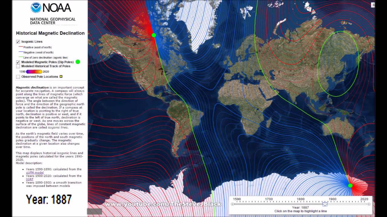 this page contains all about magnetic declination map geospatial data and services at