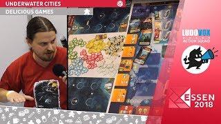 Essen 2018 - Underwater Cities - Delicious Games - VOSTFR