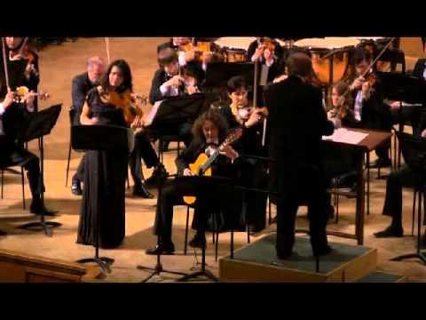 Mauro Giuliani - Nikita Koshkin. Double concerto for violin, guitar and orchestra - IV movement