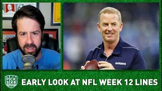 NFL Week 12 Picks, Early Look at Lines, Betting Advice I Pick Six Podcast