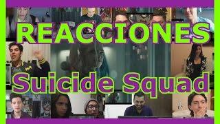 Recopilación de Reacciones: Suicide Squad Trailer 1 /Reactions Mashup Dc Comics