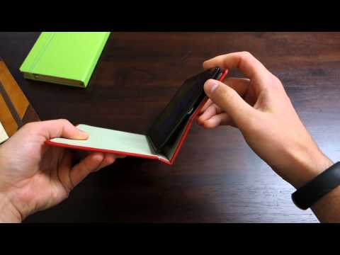 Portenzo Nexus 7 Case Review:  Alano. BookCase. and HardBack