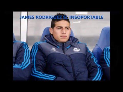 JAMES RODRIGUEZ EL INSOPORTABLE, LA OTRA CARA DEL CRACK