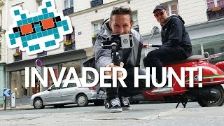 Space Invader Hunting in Paris with The Earful Tower Podcast 👾 How to Find Space Invader Street Art