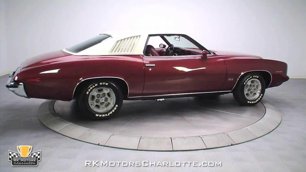 132674 1973 Pontiac Grand Am Youtube