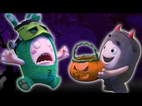 Oddbods : Halloween Special | Candy Monsters | Oddbods & Friends